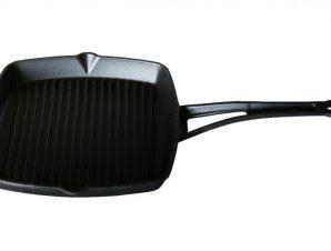 Γκριλίερα Από Μαντέμι Cast Iron 26cm Lava