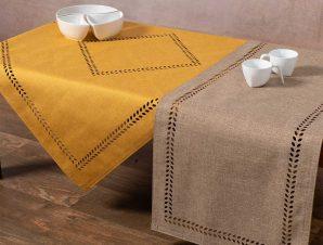 Καρέ 2 Όψεων (90×90) Silk Fashion BG18 Yellow/Sand