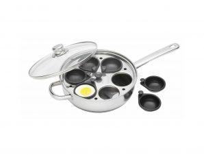 Κατσαρόλα – Τηγάνι Για Αυγά Ποσέ 6 Θέσεων Kitchencraft