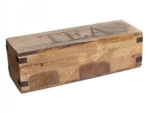 Κουτί Ξύλινο Για Τσάι Cuba Mango 5five
