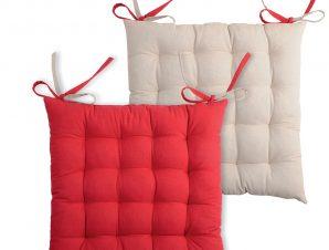 Μαξιλάρι Καρέκλας 2 Όψεων S-F Duo Rouge/Lin CU1490041GAL