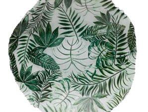 Μπολ Γυάλινο Στρογγυλό Jungle 40cm