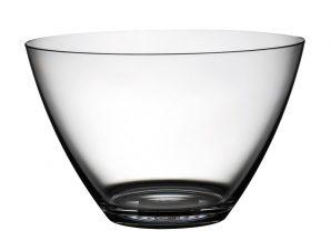 Μπολ Παγωτού Πλαστικό Drop Διάφανο 12cm MORI 2A