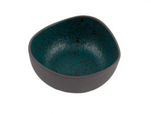 Μπολ Πορσελάνης Granite Petrol 9cm