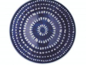 Μπολ Stonware Blue & White Greek Style 15cm Kitchencraft