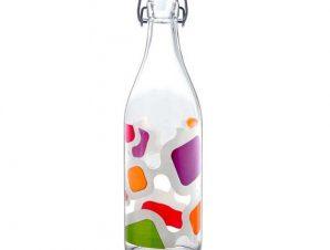 Μπουκάλι Γυάλινο Lella Vision 1lt. Decover