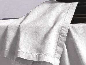 Πετσέτα Φαγητού Nef-Nef Cotton-Linen White