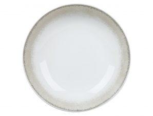 Πιάτο Βαθύ Σετ 6Τμχ Apeiron Beige 21.5cm Ionia