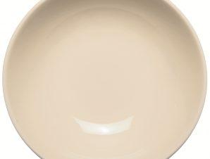 Πιάτο Βαθύ 22cm Κεραμικό Καφέ Happy Ware Alfa
