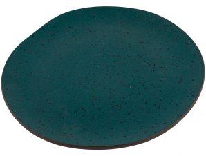 Πιάτο Πορσελάνης Ρηχό Granite Petrol 26cm