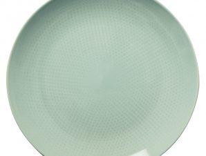 Πιάτο Ρηχό 21cm Κεραμικό Tirquοise Dots Happy Ware Alfa