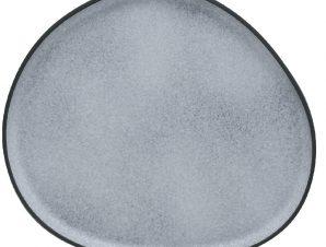 Πιατέλα Στρογγυλή 34cm Iron granite Γκρι