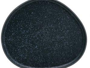 Πιατέλα Στρογγυλή 34cm Iron granite Μπλε