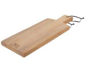 Πλατό Σερβιρίσματος Στρογγυλό Black Acakia 52cm Gusta