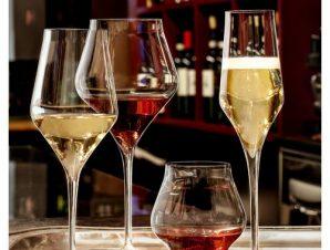 Ποτήρι Κρασιού Κρυστάλλινο Luigi Bormioli 350ml Σετ 6 Τμχ Supremo