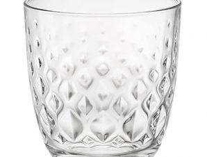 Ποτήρι Κρασιού Glit 295ml Σετ 6τμx. Bormioli Rocco