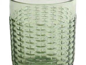 Ποτήρι Νερού-Αναψυκτικού Σετ 6τμχ. Rattan Green 350ml Marva Home