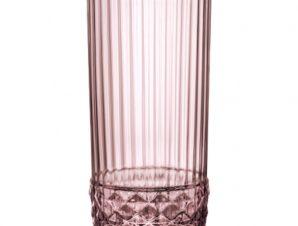 Ποτήρι Νερού America '20s Lilac Rose 490ml Bormioli Rocco