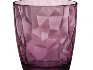 Ποτήρι Ουίσκι Diamond μωβ 305ml Bormioli Rocco