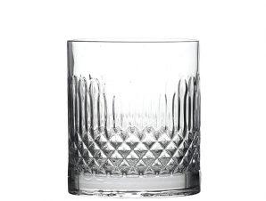 Ποτήρι Ουίσκι Κρυστάλλινο DiamantΣετ 4τμχ. Luigi Bormioli 380mle