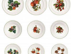 Σερβίτσιο Φαγητού Πορσελάνης 18τμχ Le Primizie Brandani