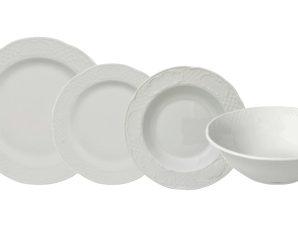 Σερβίτσιο Φαγητού Flora 19τμχ. Gural Porselen