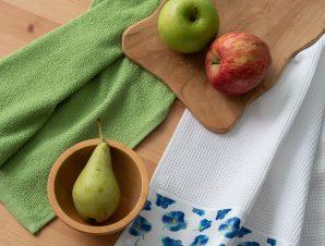 Σετ Πετσέτες Κουζίνας 2 Τεμαχίων Palamaiki Kitchen Collection Citron 40×60