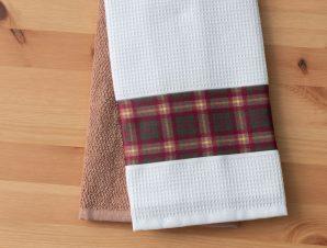 Σετ Πετσέτες Κουζίνας 2 Τεμαχίων Palamaiki Kitchen Collection Fawn 40×60
