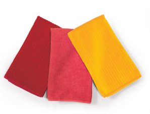 Σετ Ποτηρόπανα 3 Τεμαχίων Nef-Nef Chrome Yellow-Coral-Cranberry
