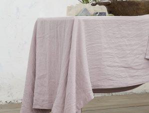 Σετ Σουπλά 2 Τεμαχίων Nima Linho Dusty Pink 30×50