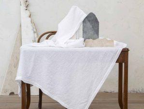 Σουπλά (Σετ 2τμχ) Nima Dining Linho White