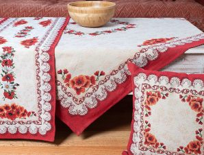 Τραπεζομάντηλο (140×140) Silk Fashion 14250