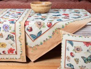 Τραπεζομάντηλο (140×140) Silk Fashion 14252