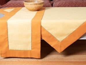 Τραπεζομάντηλο (140×140) Silk Fashion BG17-2