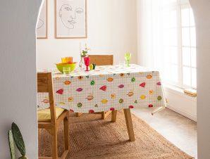 Τραπεζομάντηλο Gofis Home Frutti 135×135 563