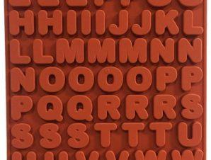 Φόρμα Σιλικόνης Silikomart Γράμματα ABC