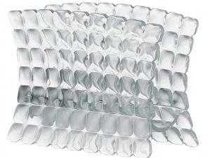 Χαρτοπεσετοθήκη Επιτραπέζια Tiffany Clear Guzzini