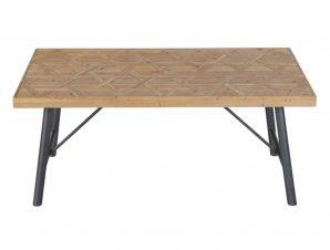 Τραπέζι DIL103 Brown-Black 180x90x75cm Espiel