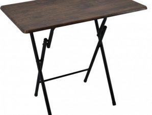 Τραπέζι Πτυσσόμενο 774371 90x70x70 Dark Brown Ankor