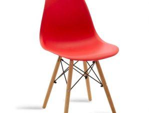 Καρέκλα Julita 029-000033 46x50x82cm Oak-Red