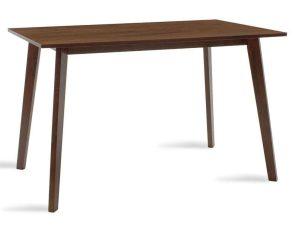 Τραπέζι Benson 097-000003 120x75x75cm Walnut