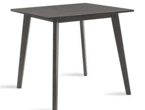 Τραπέζι Benson 097-000002 80x80x75cm Rustic Grey