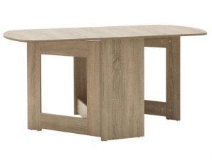Τραπέζι Julian Πολυμορφικό-Επεκτεινόμενο 043-000085 80x37x75,5cm Sonoma