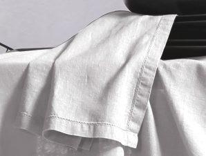 Πετσέτες Φαγητού 50×50 Nef Nef Cotton-Linen White