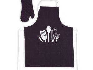 Σετ Κουζίνας (2 Τμχ) Nef Nef Cooking Black
