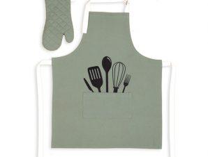 Σετ Κουζίνας (2 Τμχ) Nef Nef Cooking Green