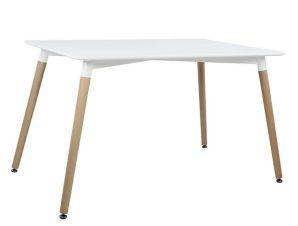Τραπέζι Minimal 160Χ90X74Υεκ. White Natural HM8697.01