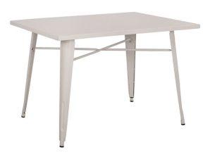 Τραπέζι White HM0609.21 120X80X76Υ εκ.