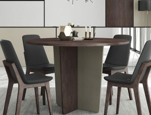 Τραπέζι Στρογγυλό Νο. 116 130×78 Wallnut