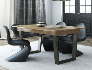 Τραπέζι Ανοιγόμενο Νο. 110 Ifaistos 160×90 Wallnut